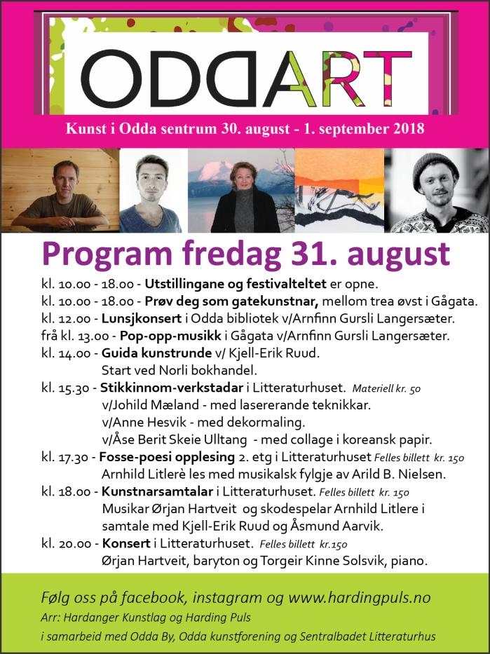 Program fredag